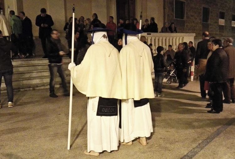 Taranto perdune in processione settimana santa