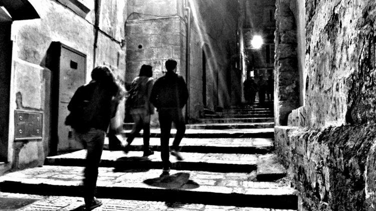 Taranto Città Vecchia di notte