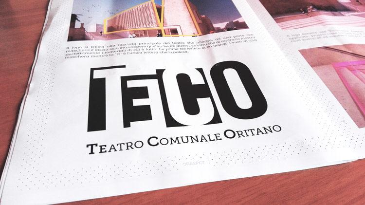 TEco Logo teatro comunale oritano su rivista