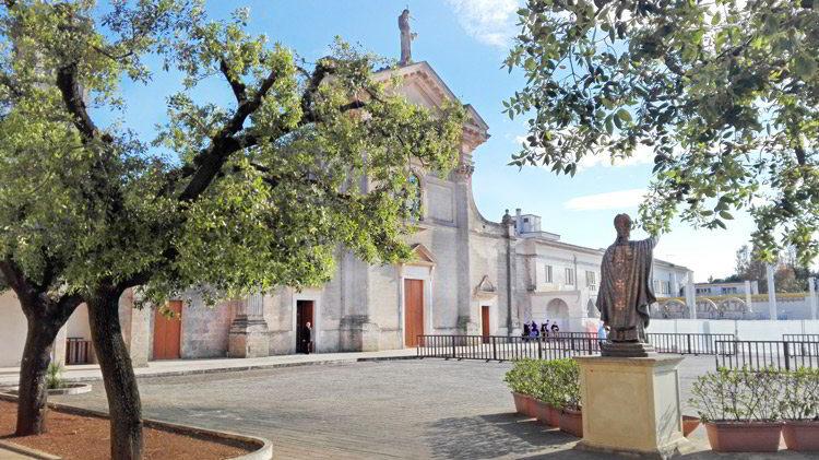 Santuario di San Cosimo alla Macchia a Oria