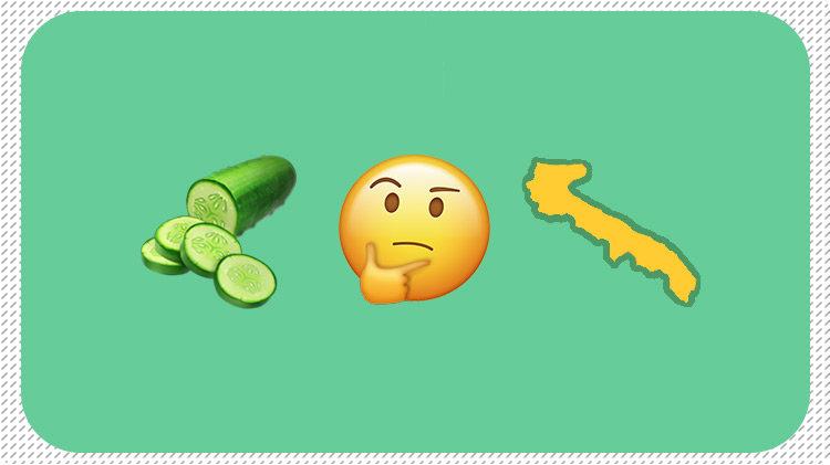 Emoji che ricerca i nomi della carusella di puglia