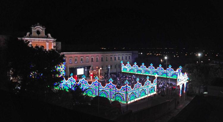 festa di sant'antonio a Oria presso il Santuario di San Pasquale