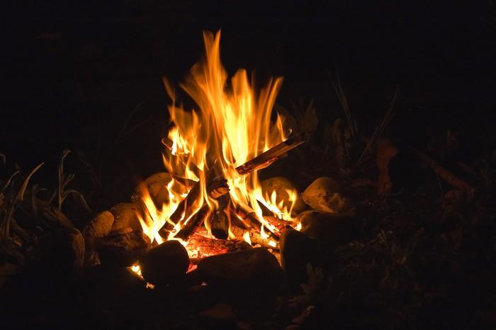 fuoco di halloween