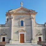 facciata santuario san cosimo alla macchia Oria